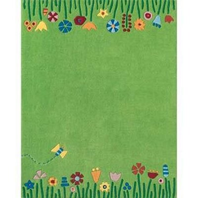 Claro Green Area Rug Rug Size: Rectangle 9 x 12