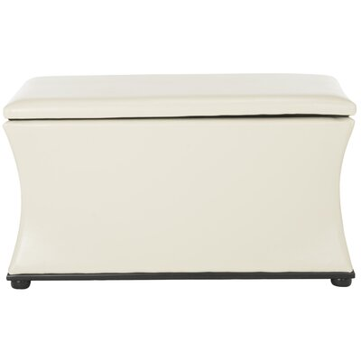 Kate Storage Entryway Bench Color: White