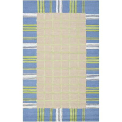 Claro Taupe & Blue Area Rug Rug Size: Rectangle 8 x 10