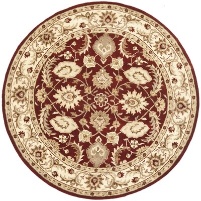 Royalty Red/Ivory Rug