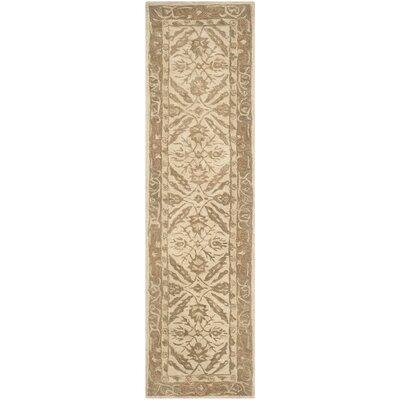Anatolia Ivory Area Rug Rug Size: Runner 23 x 8