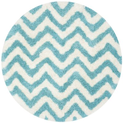 Area Rug Rug Size: Round 5