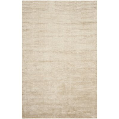 Mirage Beige Soild Rug Rug Size: Rectangle 83 x 11
