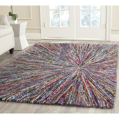Nantucket Firework Area Rug Rug Size: Square 4