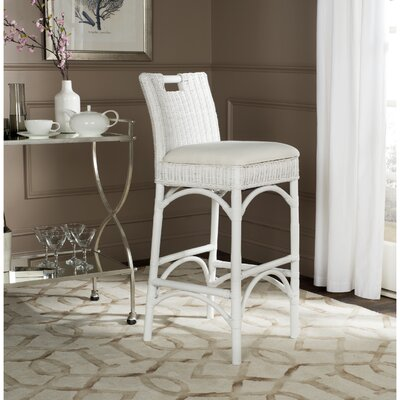 32 Bar Stool Color: White