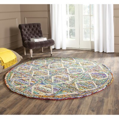 Nantucket Area Rug Rug Size: Round 4
