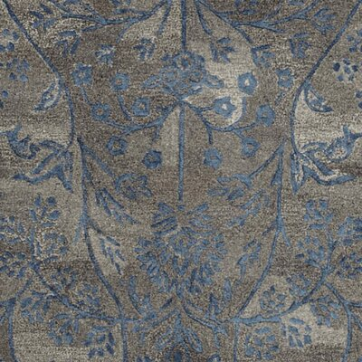 Sapphire Brown/Blue Area Rug Rug Size: Runner 23 x 8
