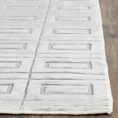 Mirage Silver Area Rug Rug Size: Rectangle 10 x 14
