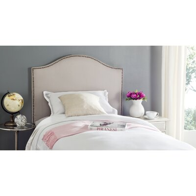 Connie Upholstered Panel Headboard Size: King
