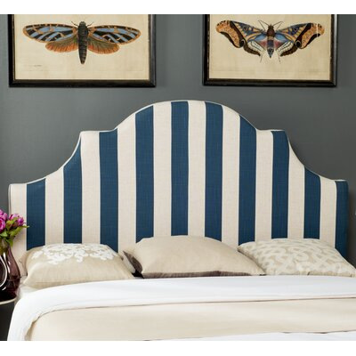 Hallmar King Upholstered Panel Headboard