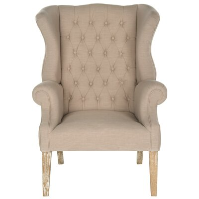 Bradon Club Chair Color: True Taupe