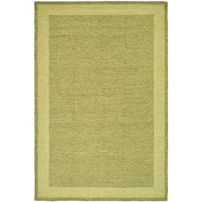 DuraRug Green Area Rug Rug Size: Rectangle 6 x 9