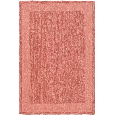 DuraRug Red Area Rug Rug Size: Rectangle 4 x 6