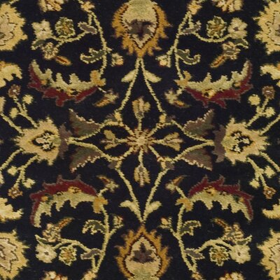 Cranmore Black Area Rug Rug Size: Rectangle 4 x 6