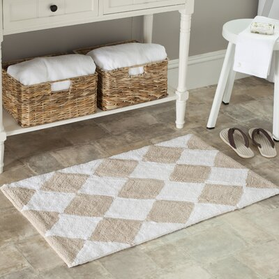 Plush Master Geometric Bath Rug