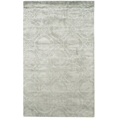 Mirage Blue Area Rug Rug Size: 4 x 6