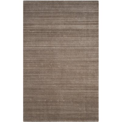 Mirage Hand-Woven Ashwood Area Rug Rug Size: 6 x 9