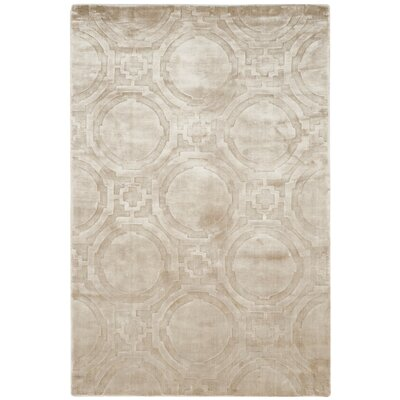 Mirage Silver Area Rug Rug Size: Rectangle 9 x 12