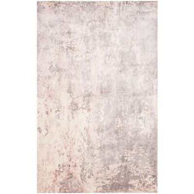 Mirage Pink Area Rug Rug Size: 6 x 9