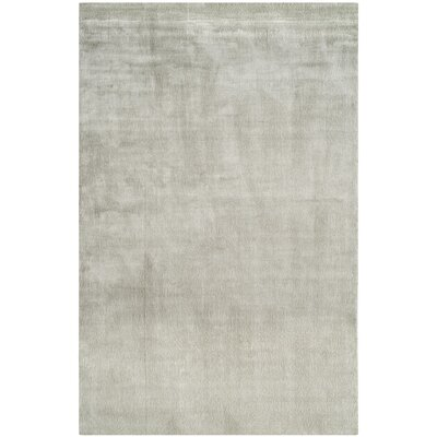 Mirage Hand-Knotted Fog Area Rug