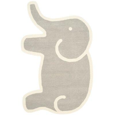 Martha Stewart Hand-Tufted Grey Area Rug