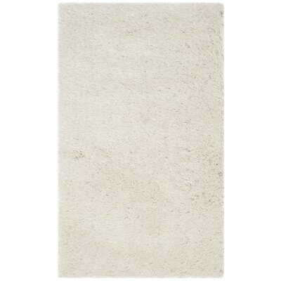 Thom Filicia Hand-Tufted Pearl Area Rug Rug Size: Rectangle 22 x 38