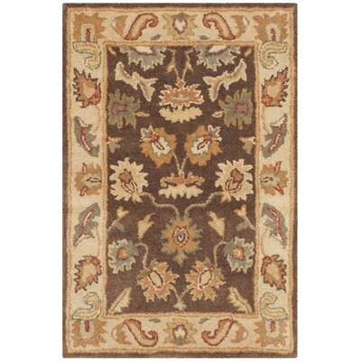 Bergama Area Rug Rug Size: Rectangle 4 x 6