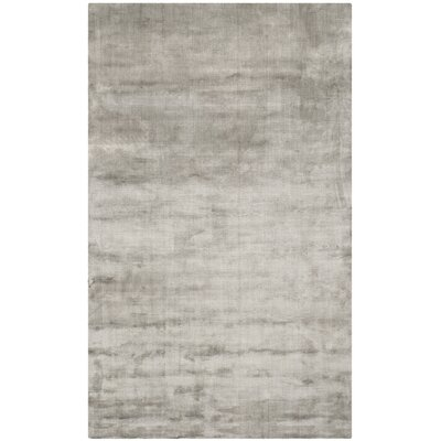 Mirage Steel Area Rug Rug Size: 4 x 6