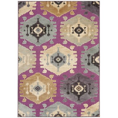 Thom Filicia Fuchisa/Tan Area Rug Rug Size: Rectangle 53 x 76