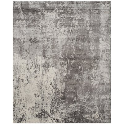 Mirage Gray Area Rug Rug Size: 8 x 10