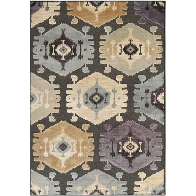 Thom Filicia Charcoal/Beige Area Rug Rug Size: Rectangle 76 x 106