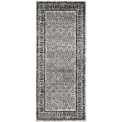 Norwell Ivory / Silver Area Rug Rug Size: Rectangle 11 x 15