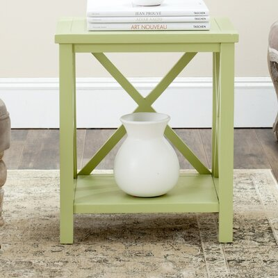 Davies End Table Color: Split Pea