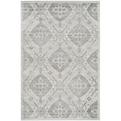 Joana Gray Area Rug Rug Size: Rectangle 4 x 6