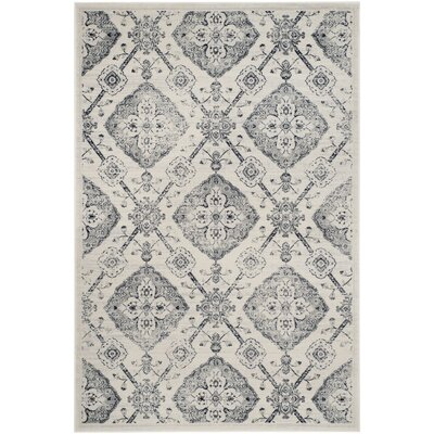 Joana Gray Area Rug Rug Size: Rectangle 3 x 5