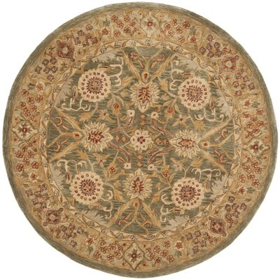 Pritchard Traditional Area Rug Rug Size: Round 4