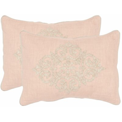 Isola Linen Throw Pillow Size: 12 x 20