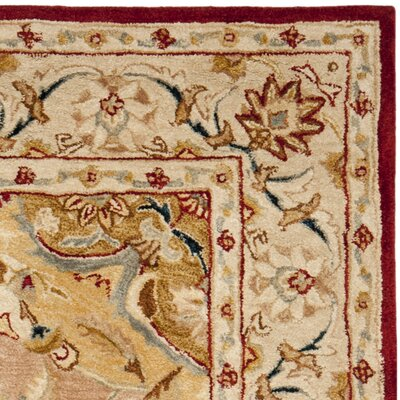 Anatolia Gold/Ivory Area Rug Rug Size: Rectangle 8 x 10