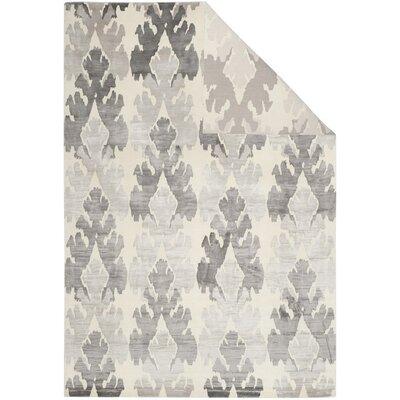 Tibetan Pearl/Gray Area Rug Rug Size: 6 x 9