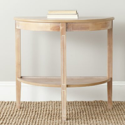 American Home Amos Console Table Color: Red Maple