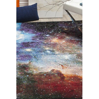 Purple Area Rug Rug Size: Rectangle 27 x 5