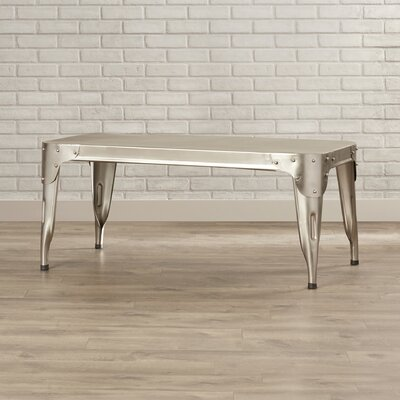 FOX Classic Coffee Table Color: Dark Ant Silver