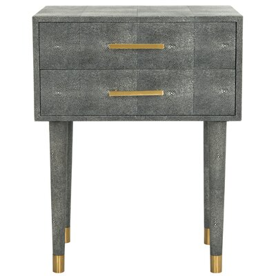 Onderdonk End Table Color: Black