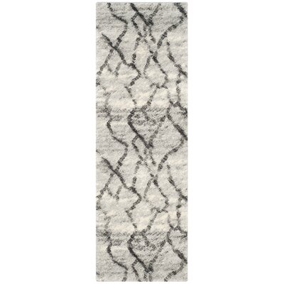Area Rug Rug Size: Runner 23 x 7, Color: Green