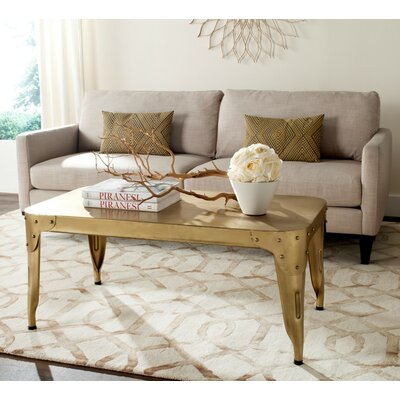 FOX Classic Coffee Table Color: Gold