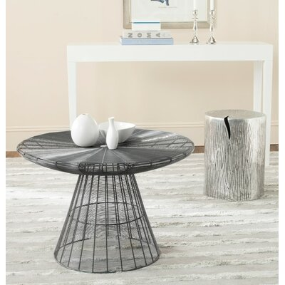 Reginald Wire Coffee Table Finish: Grey