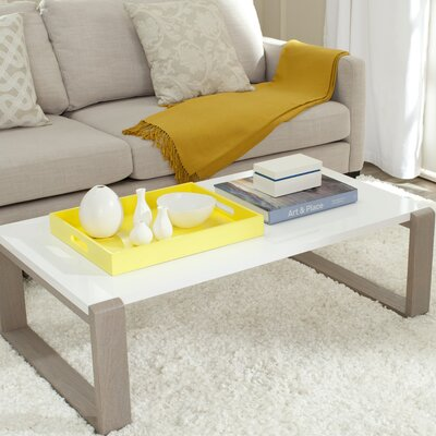 Bartholomew Coffee Table Color: Grey