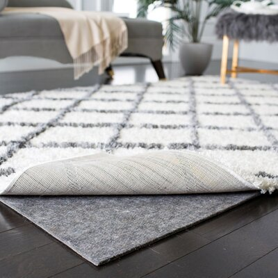 Martha Stewart Non Slip Rug Pad Rug Pad Size: Rectangle 6 x 9