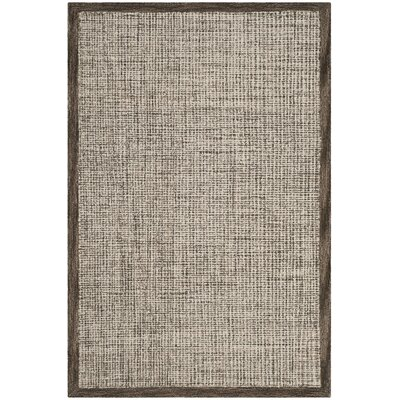 Blosser Hand-Tufted Brown/Beige Area Rug Rug Size: Rectangle 8 x 10