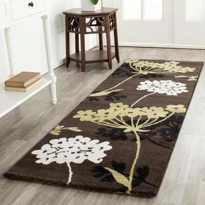 Porcello Brown/Green Area Rug